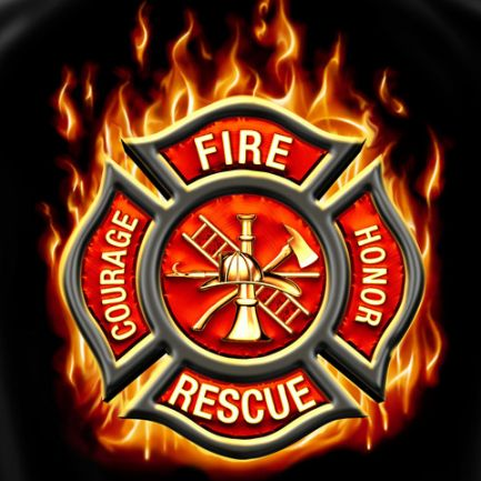firefighting logo design