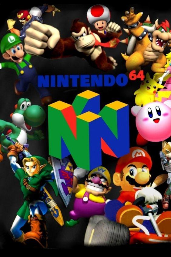 "Nintendo 64! Mario Kart!!! And ""Itsa Me, Maario"" Love it."