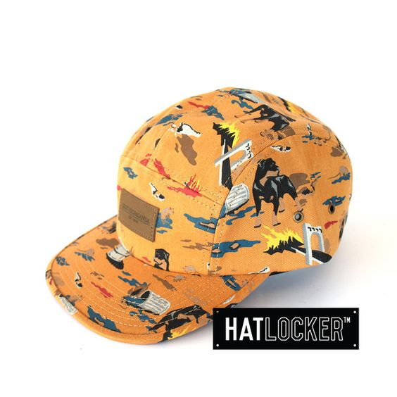 City Hunting Cathay Spice 5 Panel Strapback by Obey | Find it at www.hatlocker.com  #obey #5panel #strapback