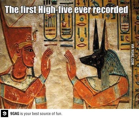 The first high five