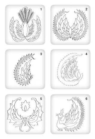 Gambar Motif Batik Burung Garuda - Batik Indonesia