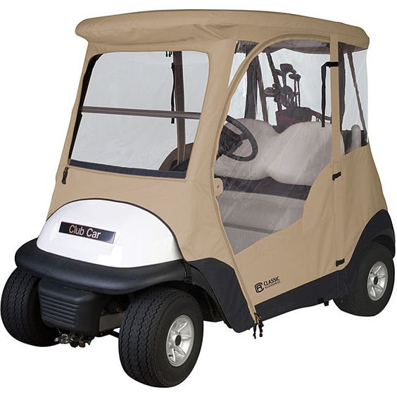 Fairway Club Car Precedent Golf Cart Enclosure Weather