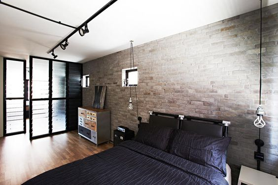 flats industrial and exposed brick on