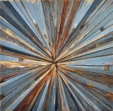 Michelle Peterson-Albandoz- art from reclaimed wood