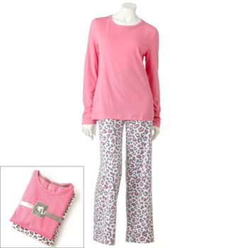 SONOMA life and style Fleece Pajama Gift Set #KohlsDreamGifts