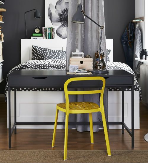 alex desk gray beautiful good ideas and offices. Black Bedroom Furniture Sets. Home Design Ideas