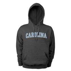 love this charcoal gray Carolina hoodie!