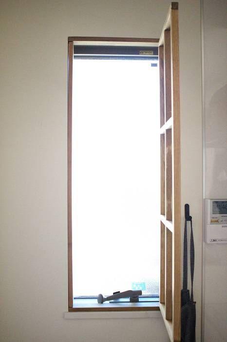 原状回復可能diy キッチンの窓に窓枠を付けました インテリア