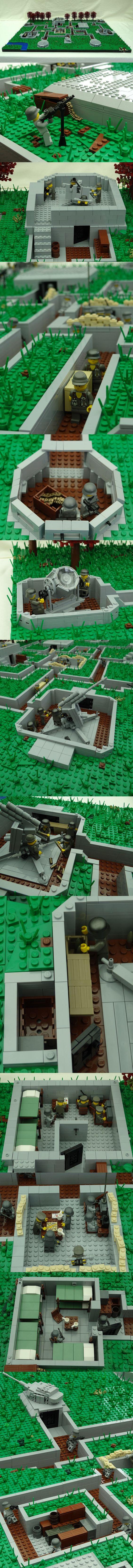 Red tree bunker