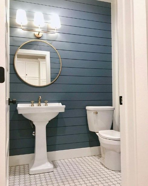 50 Half Bathroom Ideas That Will Impress Your Guests And Upgrade Your House Half Bathroom Decor Unique Bathroom Design Small Half Bathrooms