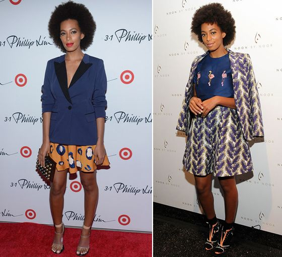 Bloc de Moda: Noticias de moda, fashion y belleza: El guardarropa primaveral de Solange Knowles en #NYFW