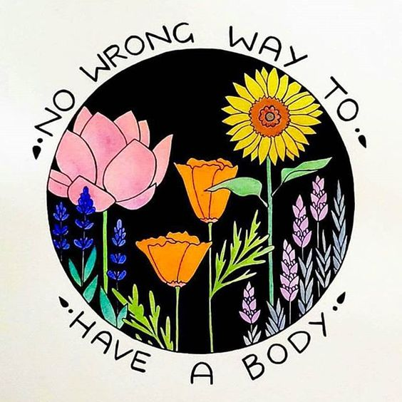 A Friendly Reminder That It's OK to Love Your Body Exactly How It Is