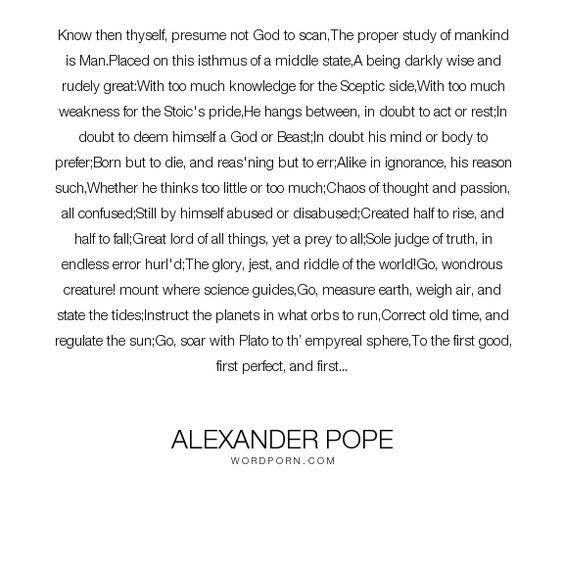 Alexander Pope - \