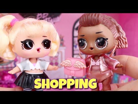 Lol Surprise Doll Shopping At Bb Boutique Pop Up Store Dress Up