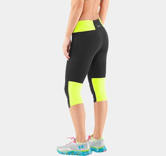 Women's UA Fly-By Compression Capri | 1236476 | Under Armour US