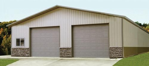 40 W X 63 L X 14 H Garage Post Frame Building Post Frame Building Garage Doors Garage