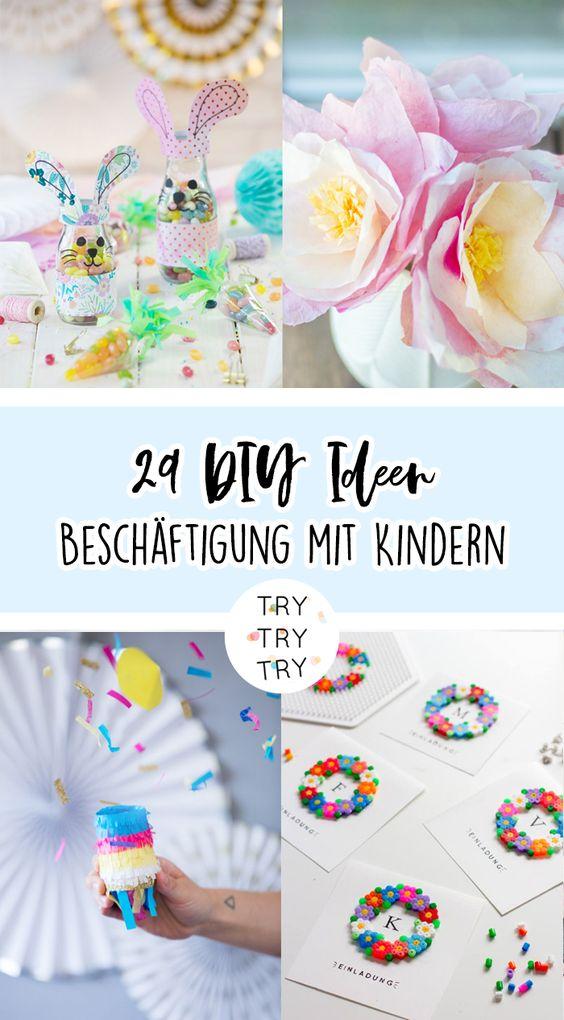 29 Ideen fürs gemeinsame Basteln und Backen mit Kindern!
