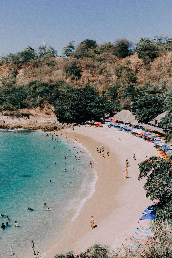 Playa carrizalillo, Oaxaca Mexico