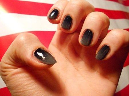 Manicure en degradado