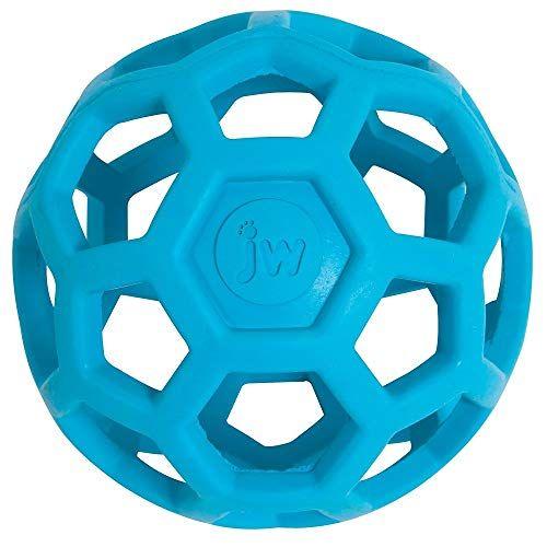 Jw Hol Ee Roller Original Treat Dispensing Dog Ball Hard Natural