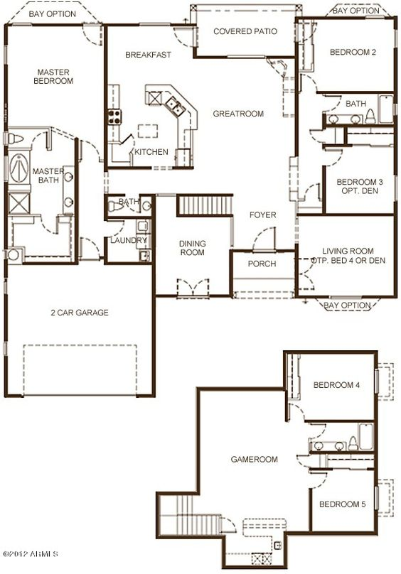 The Ocotillo Grande Plus Floor Plan Boasts Nearly 3 700