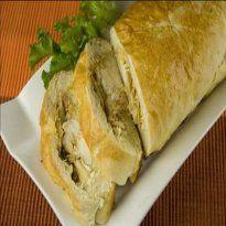 Receita de Baguete de frango com requeijão cremoso: Every Day, Salty Recipes, Each, The Frango