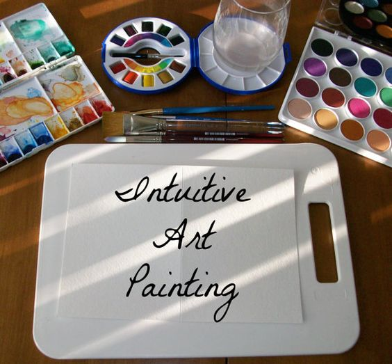 Intuitive Art Painting  Custom by CreativeSprite on Etsy
