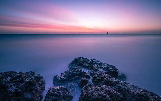 Sunrise Roker Pier from Seaburn by Michael Gent on 500px