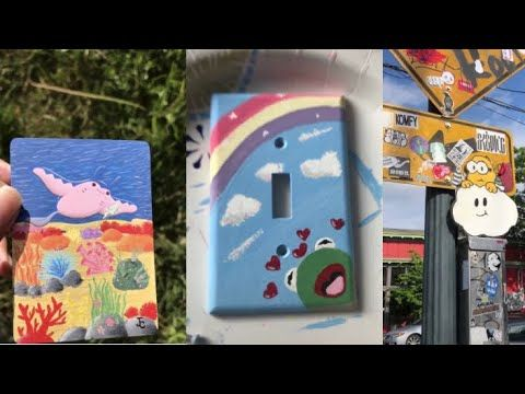 People Painting Drawing On Stuff For 4 Minutes Straight Tik Tok Art Compilation 5 Youtube Painting Drawing Art Painting