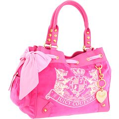 Juicy Couture Pink Bag - I own this... I got it last year for Valentine's Day! I also have the matching wallet! ;)