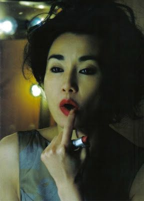 The little white attic: Maggie Cheung