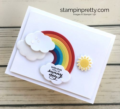 A Simple Rainbow Card To Brighten Someone S Day Rainbow Card