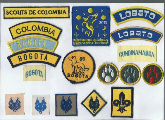 insignias antiguas de manada