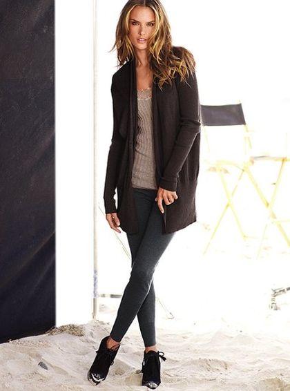 Cotton & Cashmere Jersey Legging - Victoria's Secret - StyleSays