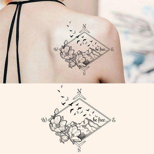 Free To Be Me Feminine Tattoo Design Tattoo Contest Design Tattoo Contest Afinkell Feminine Tattoos Tattoos Tattoo Designs
