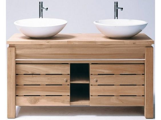 vanities bathroom vanity teak rectangular sink rustic for and cabinet brown