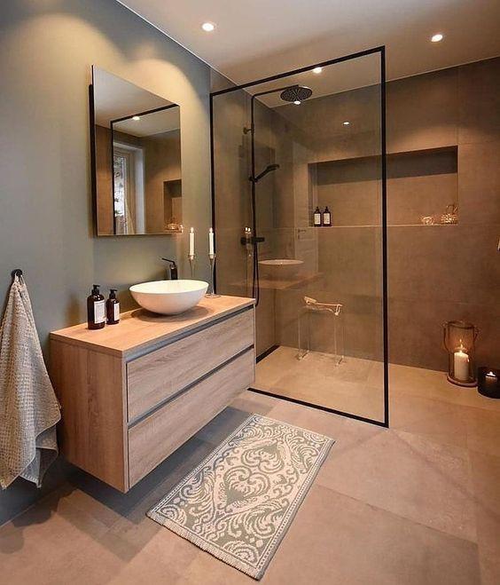 Banheiro de Casal: 45 Dicas e Modelos para te inspirar!