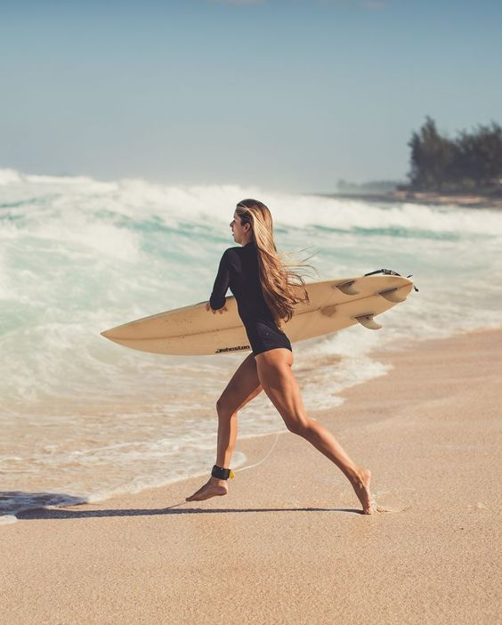 Wave surf, Surf and Girls on Pinterest
