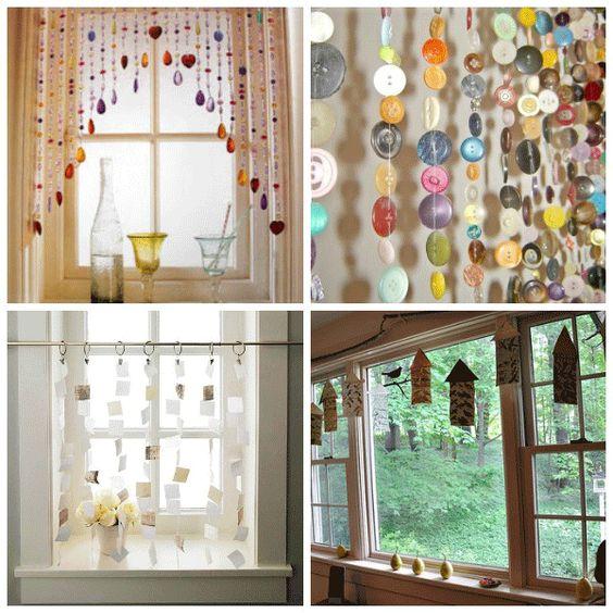 Cool, Creative Window Treatment Ideas | Seasons, Window treatments ...