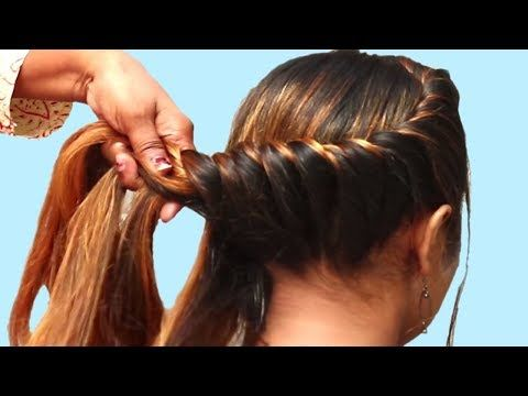 15 Easy Hairstyles For Long Hair Everyday Hairstyle For Girls Party Hairstyles Hairstyles Youtube Long Hair Styles Everyday Hairstyles Hair Styles