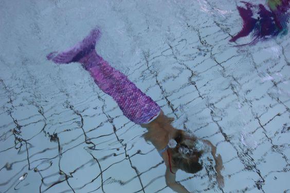 Zeemeermin zwemlessen bij zeemeerminnenfeest.nl