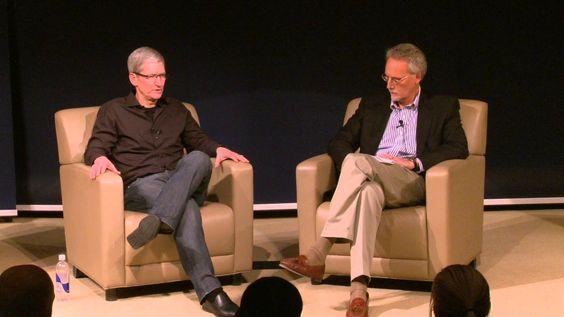 Apple CEO Tim Cook on Inspirational Leaders #leadership