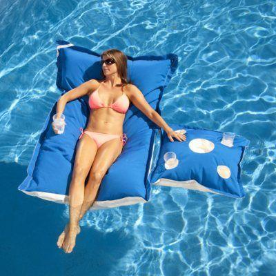 Kai Lounge Canvas Pool Float