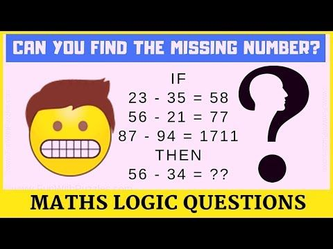 Maths Logical Questions And Answers Youtube Logic Puzzles Brain Teasers Brain Teasers With Answers Math