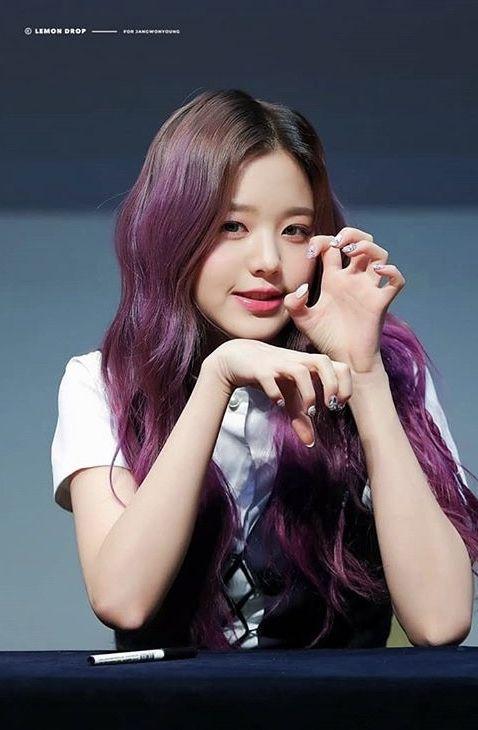 Pin By Ally L On Wonyoung Yujin Pop Hair Kpop Girls Pretty Edgy