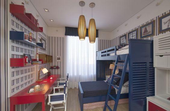 quartos de criancas pequenos decoracao moderna bonita pratica