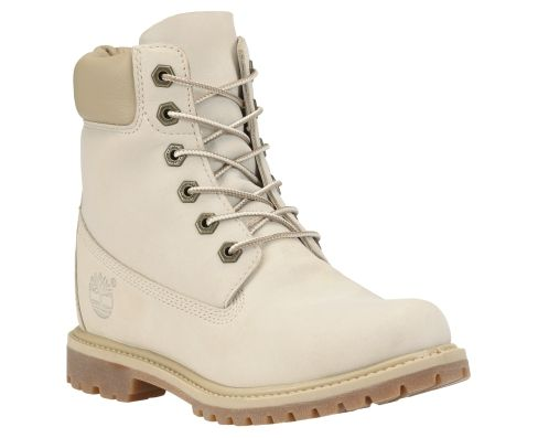 Awesome Timberland Over The Chill Women Textile White Winter Boot