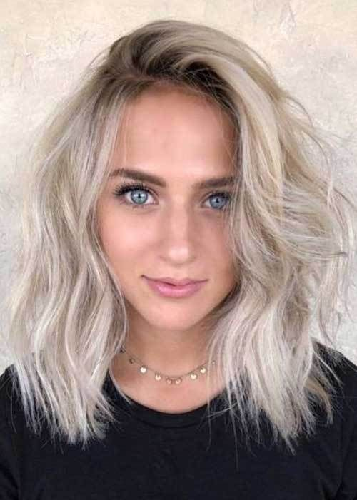 Chic Ideas About Short Ash Blonde Hairstyles With Images Ash