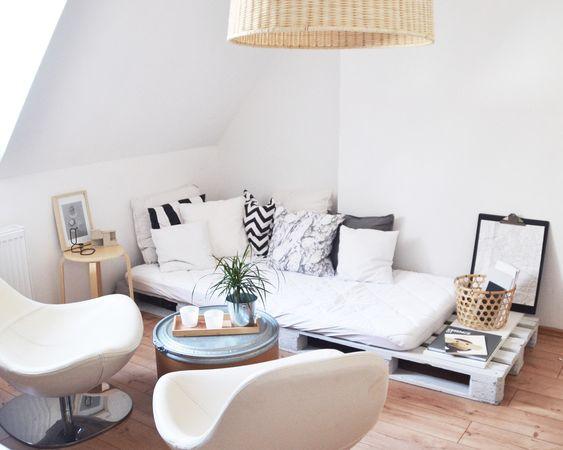 wohnzimmer schlafzimmer zimmer neugestaltung ein zimmer wohnung ...