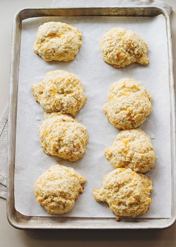 Magpie Cheddar Herb Biscuits